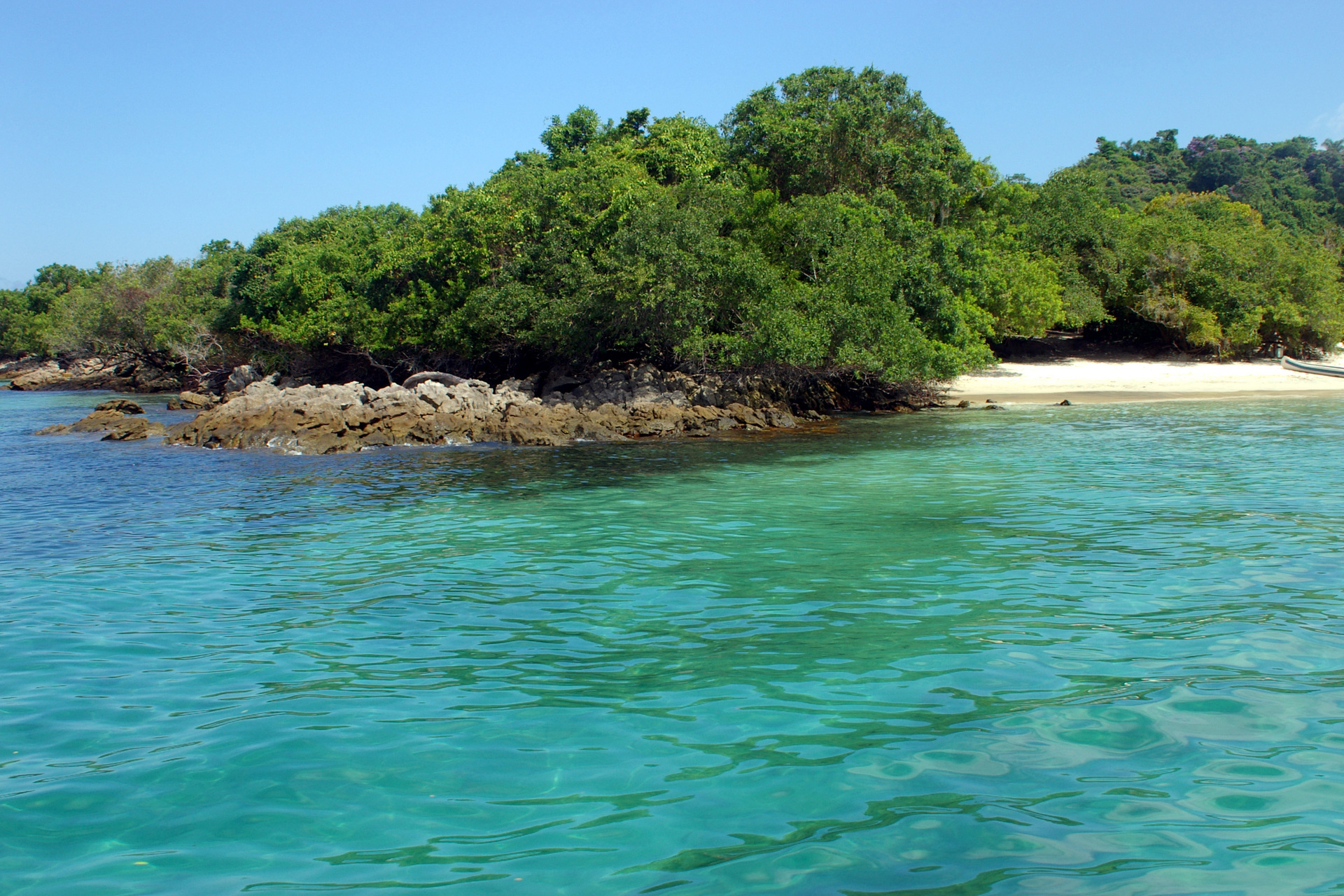 L'île Ila grande au brésil