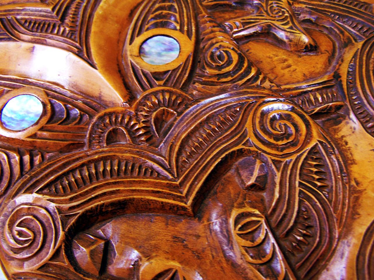 Sculpture Maori
