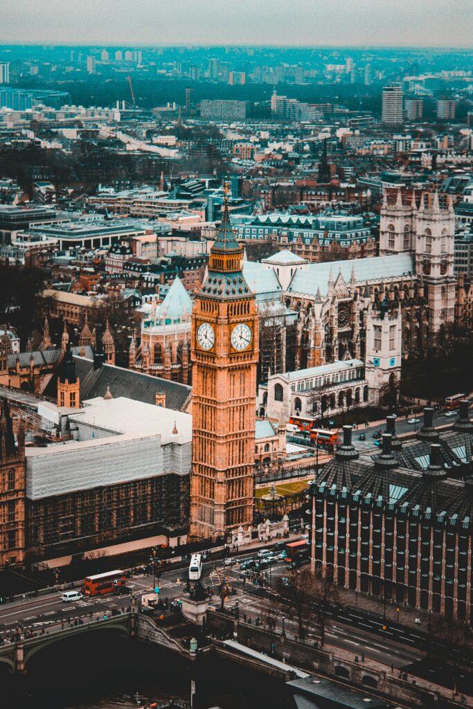 Big-ben en Angleterre